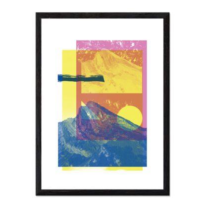 The folded mountain